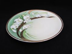 #Vintage #Bavaria Porcelain Plate #Lilies Gold Green Hand Painted Signed Renault http://www.etagerellc.com/store/p744/Vintage_Bavaria_Porcelain_Plate_Lilies_Gold_Green_Hand_Painted_Signed_Renault.html?utm_content=buffer52394&utm_medium=social&utm_source=pinterest.com&utm_campaign=buffer #gotvintage