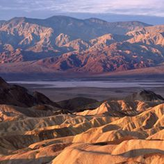 Death Valley National Park, in Nevada and California - Open year-round but with average temperatures at 100°F by May. Most visitors wait until the winter months to check it out. In July, that average climbs to 116°F. Let me know when you'd like to visit! #deathvalley #nps #helenabarnestravel