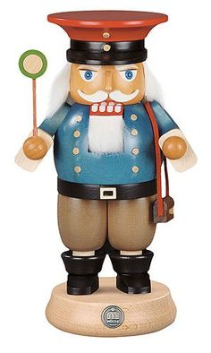 German Christmas Nutcracker Railroadman 23 cm 9 inches Mller Kleinkunst * Want additional info? Click on the image.