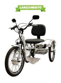 Em nosso e-commerce você encontra Triciclos Elétricos, peças e acessórios para bicicletas convencionais, bicicletas elétricas e para triciclo elétrico.