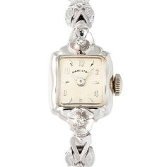 Hamilton アンティークハミルトンスクエアレディース 時計 Watch Antique ¥197400yen 〆08月22日