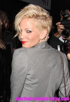 Image detail for -... Short Punk Rock Hairstyle for 2012 – 2012 Short Haircuts Trends