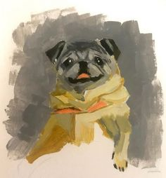 Determine additional relevant information on pug dogs. Check out our website. Cute Animal Drawings, Cute Drawings, Cute Cartoon Animals, Cute Animals, Baby Pug Dog, Teacup Pug, Old Pug, Pugs And Kisses, Pug Art