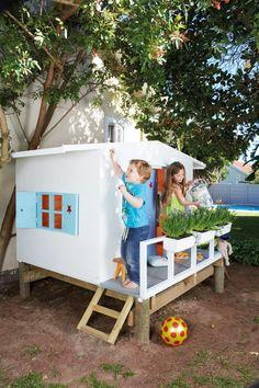 [Sélection jardin] 8 idées de cabanes DIY pour les enfants – MamanDIY