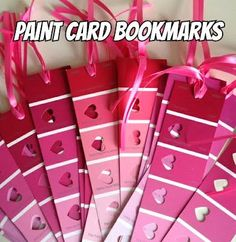 Paint Card Bookmarks