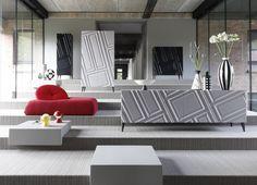 contemporary round extending glass table les contemporains. Black Bedroom Furniture Sets. Home Design Ideas