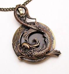 Water Dragon Locket - inspiration