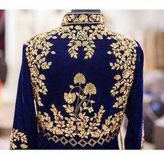 Embroidery on point Loving this piece by @WellGroomedInc. by desi_couture