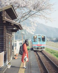 Tarumi Railway in spring, Japan - Random