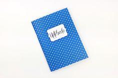Notizheft A6 Journal mit 56 Seiten, Projektbuch, Tagebuch, Reisenotizen, Designerpapier, Bulletjournal, für Mitschriften, individualisierbar von crehand auf Etsy