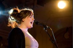 Photo Andy Sheppard @lowlightphotoUK    Adele performing at Bush Hall July 25, 2008