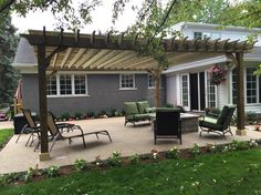 big kahuna pergola kit in grosse pointe shores michigan - Pergola Kit
