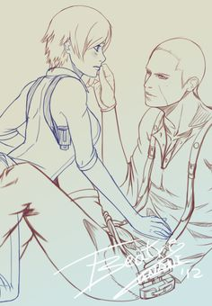 Sketch Jake and Sherry - Preview by Tinani.deviantart.com on @deviantART
