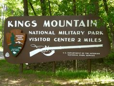 """King's Mountain National Military Park, SC -  """"Thomas Jefferson called it 'The turn of the tide of success.' The battle of Kings Mountain, fought October 7th, 1780, was an important American victory during the Revolutionary War. The battle was the first major patriot victory to occur after the British invasion of Charleston, SC in May 1780. The park preserves the site of this important battle."""""""