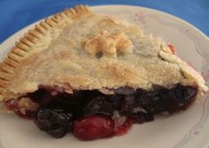 My mother-in-law found this recipe in a Better Homes and Garden and requested that I make it. I had never made a cherry pie before, but the recipe was so easy and everyone loved it! It has become a family favorite.