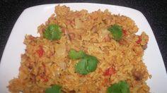 Vegetarian Black Eyed Peas Biryani