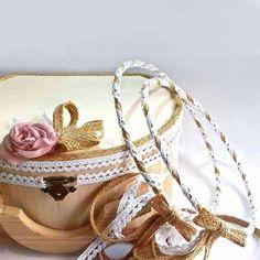Χειροποίητα Στέφανα Γάμου Wedding, Jewelry, Fashion, Mariage, Jewellery Making, Moda, Jewels, Fashion Styles, Weddings
