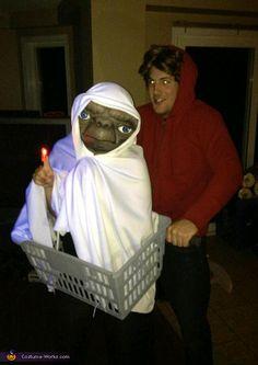 E.T. and Elliot - 2012 Halloween Costume Contest
