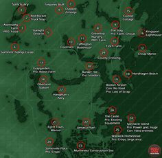 settlement locations map fallout 4 What is April why is it a laugh, how Fallout 4 Map, Fallout Facts, Fallout Game, Fallout New Vegas, Fallout 4 Funny, Fallout 4 Secrets, Fallout Tips, Video Game News, Video Games