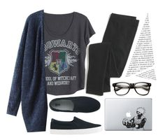 """I'm suppose to be writing, I'm horrible"" by imjustanotherdani ❤ liked on Polyvore featuring Uniqlo and Madewell"