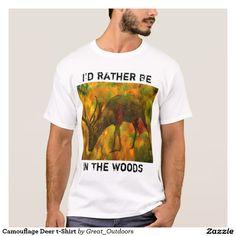 Camouflage Deer t-Shirt