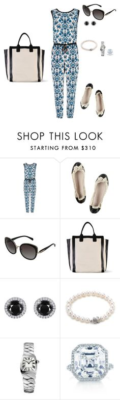 Sem título #1292 by analuli on Polyvore featuring moda, Ted Baker, Miu Miu, Chloé, Tiffany & Co., Cartier, Reeds Jewelers, Elsa Peretti and Prada