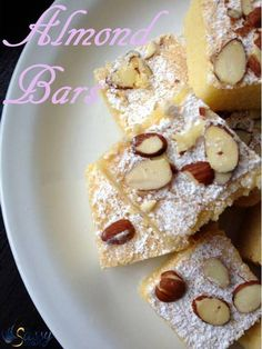 Almond Bars Title