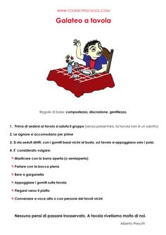 #Застольный #этикет, #Galateo, #Table #Manners