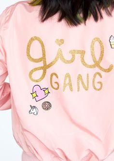 DIY Girl Gang Jacket