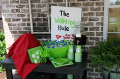 Golf party food and decorating ideas