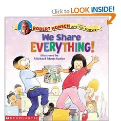 This is a great book for starting the school year. I use it to make a t-chart of good things and bad things to share at school.