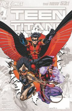 Teen Titans by Brett Both