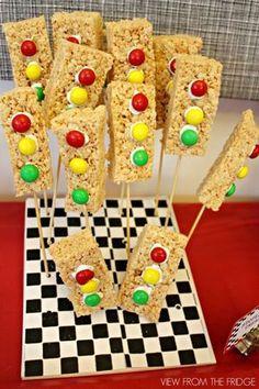 Race Car Birthday Party ... on a budget! Via View From The Fridge
