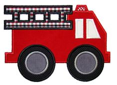 firetruck, getting ready for a 3 year olds birthday party!