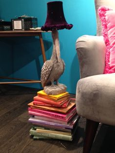 A new style animal lap by Abigail Ahern, like the look? #newseason #home #animallamp