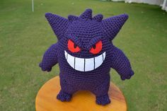 Ravelry: Gengar pattern pattern by Ana Amélia (Miahandcrafter)