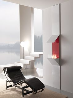 In the national colours  In the national colours    Rough edges, mostly white or other bright colour contrasted with a smooth, shiny surface are the characteristics of a minimalist interior. A Streep bio ethanol fireplace by Horus is a very interesting proposal for reviving the interior or stressing of our modern house... http://lovter.com/