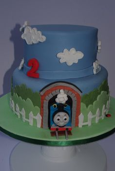 2 tier thomas cake - Google Search