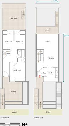 Alexandra Road floor plans - Neave Brown / Camden Architects Department, 1973-78 Architecture Tools, Architecture Portfolio, Interior Architecture, Network Architecture, Social Housing, Brutalist, Building Plans, School Design, Architecture Definition