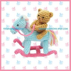 Hey, I found this really awesome Etsy listing at https://www.etsy.com/pt/listing/76753423/bear-on-a-rocking-horse-amigurumi-pdf