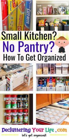 / No Pantry? / How To Get Organized