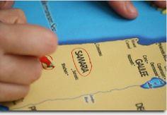 Easy, Printable Bible Bingo Map Game