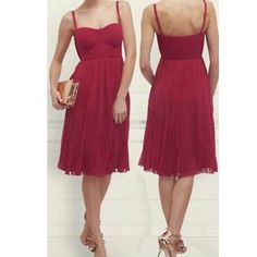 LK BENNETT! Magenta pleated dress. SZ 4 NEW!! Lovely pleated magenta dress from LK Bennett. Brand new! SZ 4 LK Bennett Dresses