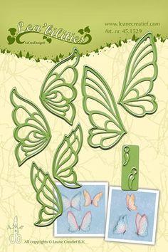 Leane Creatif - Lea'bilities Die - Butterflies