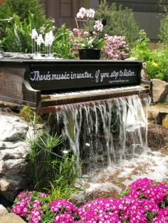 This has the coolest thing ever!!!!!!  Seems awful for the piano, but so pretty!