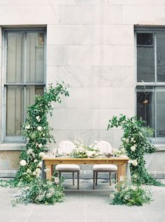 La Tavola Fine Linen Rental: Aurora Silver Table Runners with Tuscany Ocean Napkins Ceremony Backdrop, Ceremony Decorations, Backdrop Wedding, Outdoor Ceremony, Bridal Table, Wedding Table, Decor Wedding, Farm Wedding, Wedding Ideas