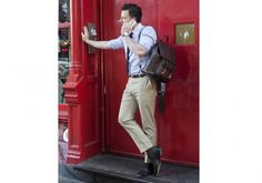 Grown Man Backpack #tip #tipping #tiporskip #fall #style #back2school #gear #travel #accessories #bag #leather #backpack #frankclegg Leather Briefcase, Leather Backpack, Grown Man, Men's Backpack, Designer Backpacks, Pebbled Leather, Classy, Mens Fashion, My Style
