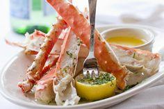 alaskan snow crab legs & butter