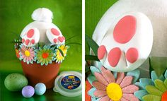 easter projects for adults | ... ideas for adults feathered easter baskets feathered easter baskets