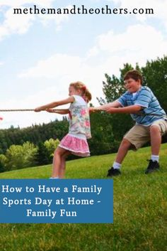 While I myself was never a big fan of sports day when I was at school, both of my kids love it. I thought we'd have a go at running a family sports day at home, here's how we got on.